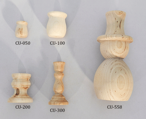 Shop online for wooden candle cups and wood candle sticks | Bear Woods Supply