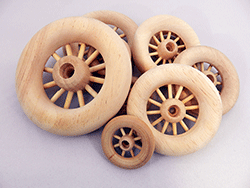 Wooden Spoked Wheels | Bear Woods Supply