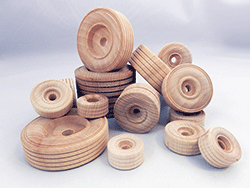 Wooden Treaded Wheels | Bear Woods Supply