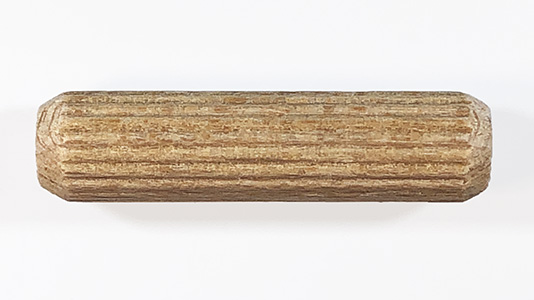 multi groove dowel pins, fluted dowels   Bear Woods Supply