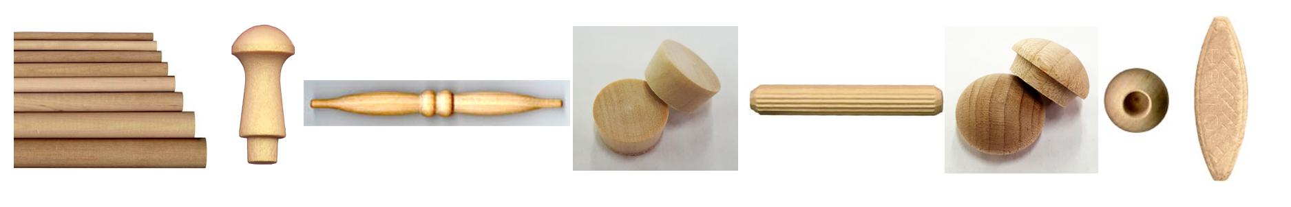 wood crafts wood parts