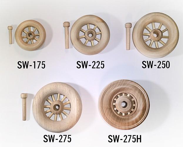 Spoked Wheels for Wood Models | Wooden wheels | Bear Woods