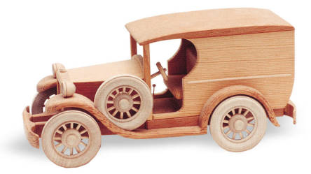 "1929 Ford Van Woodworking Plan (Approx. 13"")"