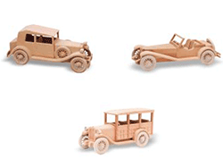 Antique Car and Truck Woodworking Patterns | Bear Woods Supply