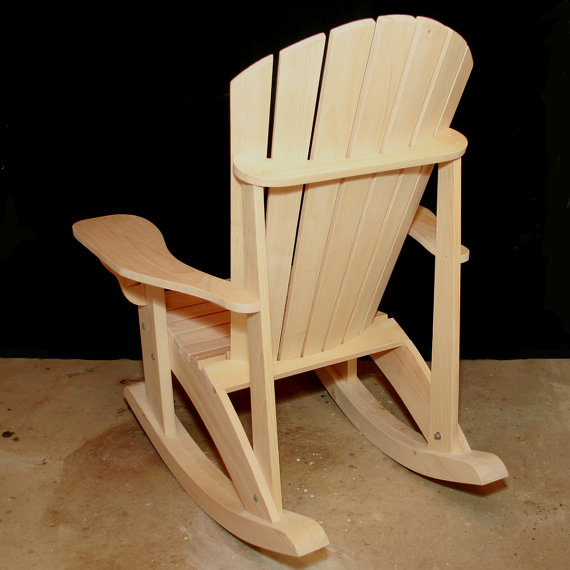 Adirondack Adult Rocking Chair Patterns Downloadable In