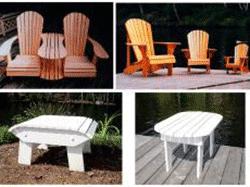 Adirondack furniture patterns, wood working plans | Bear Woods Supply