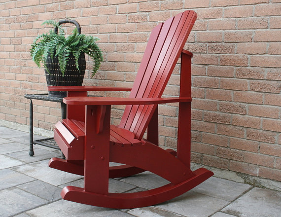 Adirondack rocking chair patterns autocad |Bear Woods Supply
