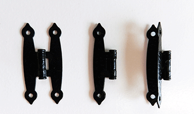 Buy Black Hammercraft Hinges | Bear Woods Supply