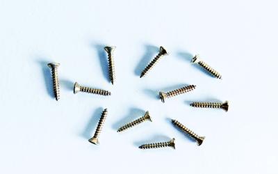 Buy brass plated FH screws | Bear Woods Supply