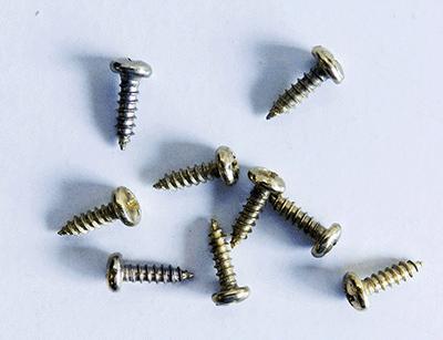 Buy Brass Round head Phillips Screws | Bear Woods Supply