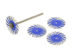 Bristle discs for woodworking