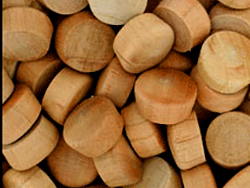 Buy round head wood plugs in Cherry | Bear Woods Canada