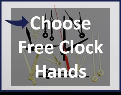 Choose free clock hands