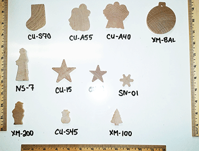 Buy wood cut-outs for Christmas Crafts | Bear Woods Supply
