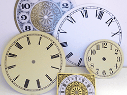 Buy clock dials, clock faces | Bear Woods Supply