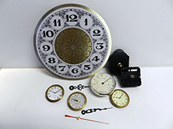 Clock Parts, Clock Movements, Dials, Quartz | Bear Woods Supply