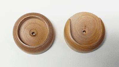 Closet Pole Socket 2 Quot X 9 16 Quot Round With 1 7 16 Quot Hole Maple