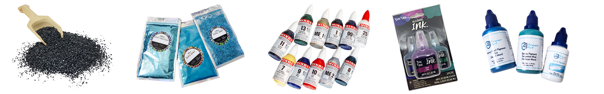 Epoxy Resin Pigment and Glitter