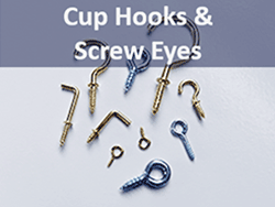 Shop for cup hooks, shoulder hooks and screw eyes | Bear Woods Canada