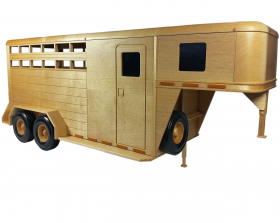 woodworking patterns to build a model horse trailer