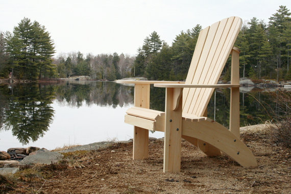 Woodworking Furniture Plans - Adirondack Chair by Phil Barley