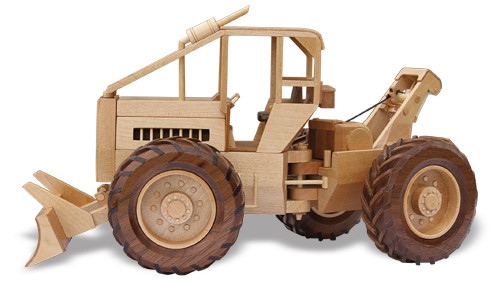 Wooden Toy Log Skidder : The log skidder woodworking pattern approx quot