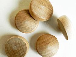 Buy round head wood plugs in Maple | Bear Woods Canada