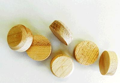 Buy Maple Side Grain Floor Plugs | Bear Woods Supply