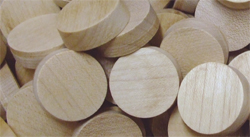 maple face grain wood plugs | Bear Woods Supply