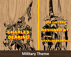 scroll saw patterns Military