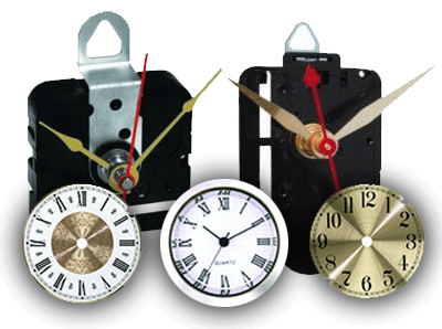 Mini Quartz Clock Movements | Bear Woods Supply Company