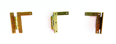 Buy miniature brass RN hinges | Bear Woods Supply