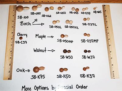 Buy Quality Mushroom Head Wood Plugs   Bear Woods Supply