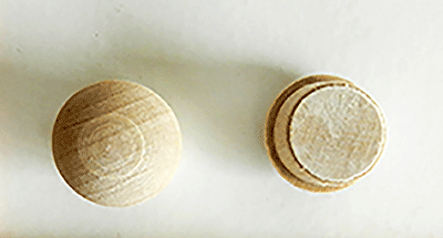 Buy Mushroom Button Wood Plugs | Bear Woods Supply