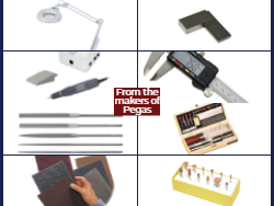 Woodworking tools and abrasives from Bear Woods.