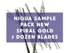 niqua-sample-pack-spiral-gold-new-5-dozen