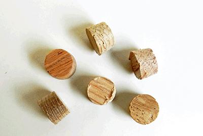 Buy Oak Side Grain Flat head Wood Plugs | Bear Woods Supply