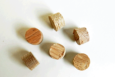 Buy Maple Side Grain Flat head Wood Plugs | Bear Woods Supply