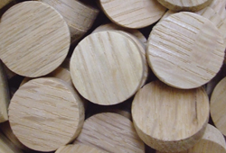 sidegrain floor plugs, sidegrain wood plugs