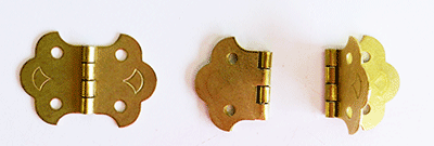Buy ornamental brass butterfly hinges | Bear Woods Supply