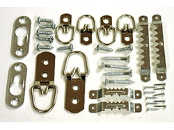 Buy Picture Hanging Hardware, Framing Supplies, Sawtooth and D-Ring strap hangers | Bear Woods Supply