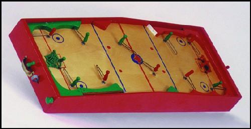 table hockey game plan pln 02 replica of the munro hockey game