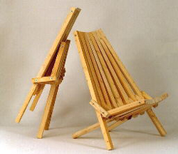 folding lawn chair plan, wood chair instructions