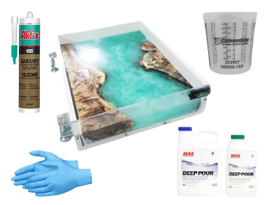 Makers Reusable Molds Epoxy Kits