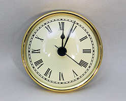 Ivory Roman Premium Clock Insert  | Bear Woods Supply