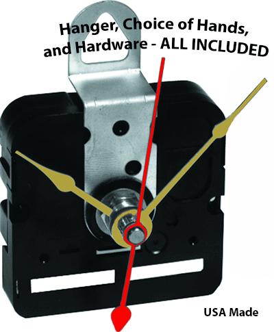 Buy quartz clock movements with hands | Bear Woods Supply
