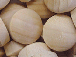 Buy round head wood plugs in Beech | Bear Woods Canada