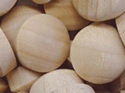 Buy round head wood plugs in Birch, Maple, Oak | Bear Woods Supply