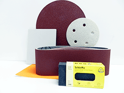Buy Sandpaper, sanding discs, belts for belt sanders | Bear Woods Supply