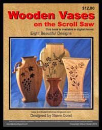 Scroll sawing patterns, wooden vases | Bear Woods Supply